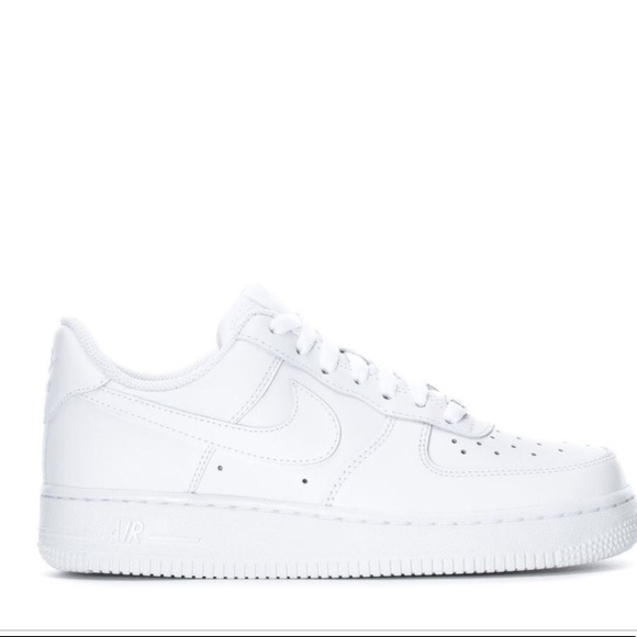 Nike Air Force 1s white women size 7